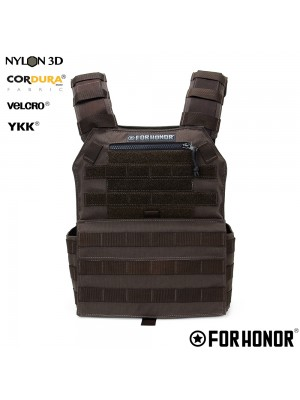 PLATE CARRIER - MARROM