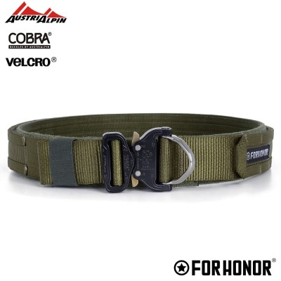 CINTO DOUBLE BELT | OLIVE DRAB