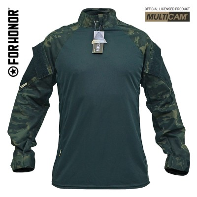 Combat Shirt Multicam Black